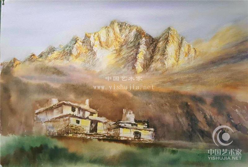 芦宾著名画家 水彩画艺术家