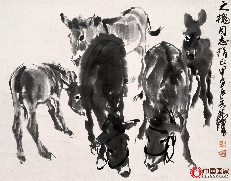 黄胄-艺术家官网-中国书画家网图片
