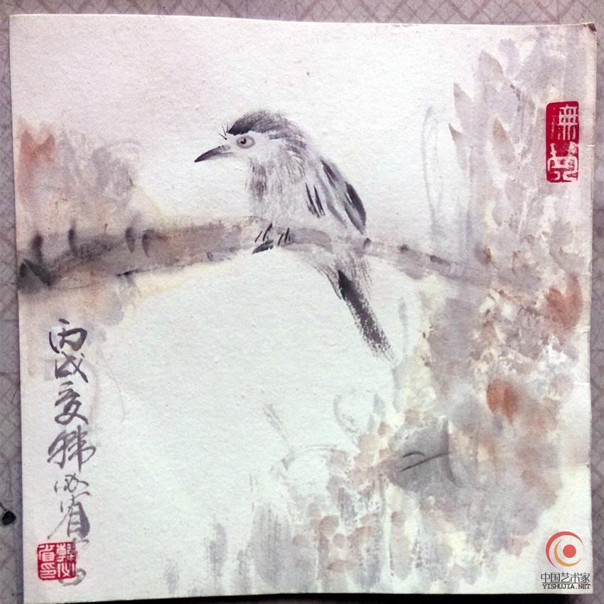 书画收藏家韩必省1966年生人,是寓津多年的温州人,现为中国美协海南图片