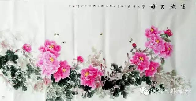 侯喜林 画家侯喜林 徐莉 国画艺术 微官网