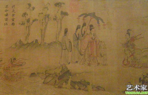 中国古代人物画精品展