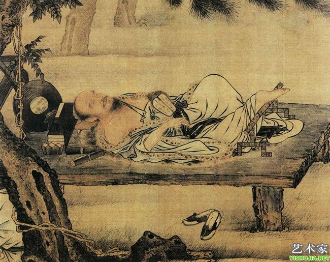 李白身为浪漫主义的诗人,自然也不会错失这份美妙的感觉,《古风其九》